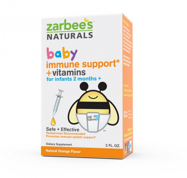 Zarbee S Naturals Baby Immune Support Vitamins Natural