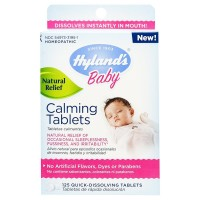 Hyland's Baby Calming Tablets, Natural Symptom Relief 125 ea [354973330818]