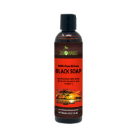 Sky Organics 100% Pure Moisturizing African Black Soap with Antioxidants and Vitamin E, 8 oz. [856045007258]