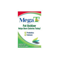 MEGA-T Green Tea Caplets With Calcium And Probiotics, 30 ea [867500000103]