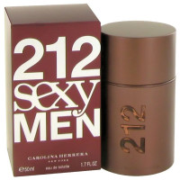 212 Sexy By Carolina Herrera Eau De Toilette Spray For Men 1.7 oz [8411061602539]