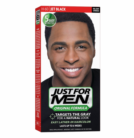 JUST FOR MEN Hair Color 60 Jet Black 1 Each [011509049360]