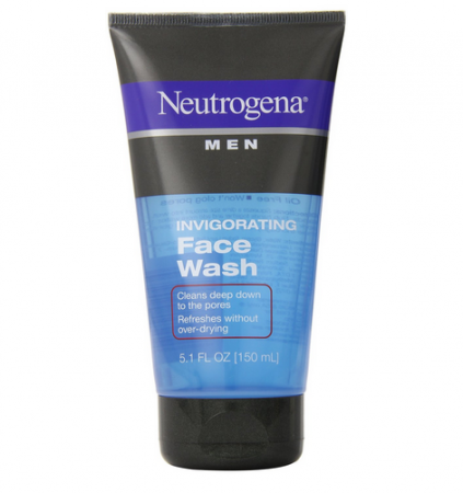 Neutrogena Men Invigorating Face Wash 5.1 oz [070501020234]