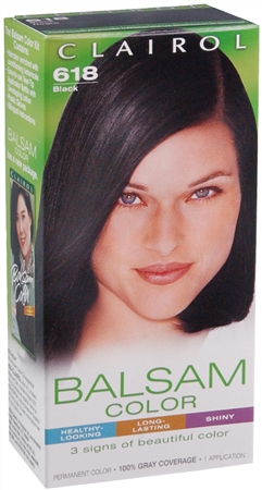 Balsam Permanent Color - 618 Black 1 Each [381513819182]