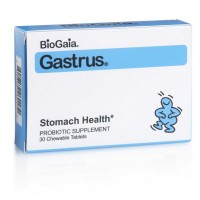BioGaia Gastrus Chewable Tablets 30 ea [602359460179]
