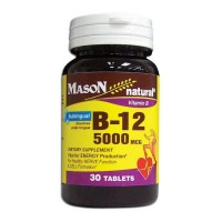 Mason Natural B-12 5000 mcg Tablets 30 ea [311845148186]