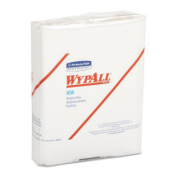 Wypall X50 Disposable Cloths (35025), Strong for Extended Use, Quarterfold, White - 26 ea [036000350258]