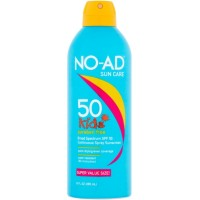 NO-AD Kids Continuous Sunscreen Spray SPF 50 10 oz [897640002910]