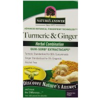 Nature's Answer Tumeric & Ginger  90 ea [083000265945]