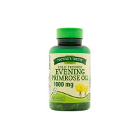 Nature's Truth Cold Pressed Evening Primrose Oil 1000 mg Capsules, 60 ea [840093101556]