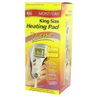 Cara Heating Pad Moist/Dry King Size With Select Heat 1 Each [038056000736]