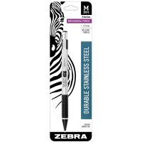 Zebra Stainless Steel Mechanical Pencil, 0.7 mm 1 ea [045888543119]