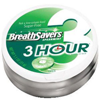 Breath Savers 3-Hour Spearmint 8 Pack (1.1 oz per pack) [989803433702]