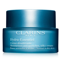 Clarins Hydra-Essentiel Moisturizes and Quenches Silky Cream, Normal To Dry Skin 1.7 oz [3380810109009]