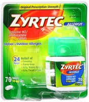 Zyrtec Allergy 10 mg Tablets 70 Tablets [300450204707]