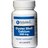 Reliable 1 Oyster Shell Calcium 500 mg Caplets 60 ea [369618039063]