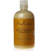 Shea Moisture Raw Shea Retention Shampoo 13  oz [764302280200]