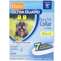 "Hartz Ultraguard Flea & Tick Dog Collar, Large 26"" 1 ea [032700811693]"