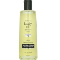 Neutrogena Body Oil Light Sesame Formula, Fragrance Free 8.5 oz [070501618301]