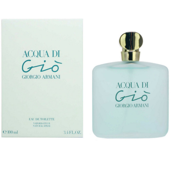 Acqua Di Gio By Armani For Women Eau De Toilette Spray 34 Oz