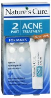 Nature's Cure 2 Part Acne Treatment for Males 1 Each [020382100129]