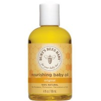 Burt's Bees Baby Bee Nourishing Baby Oil 4 oz [792850712997]