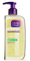 CLEAN & CLEAR Foaming Facial Cleanser Sensitive Skin 8 oz [381370033875]