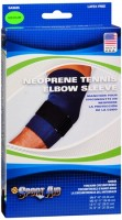 Sport Aid Neoprene Tennis Elbow Sleeve Medium 1 Each [763189017190]