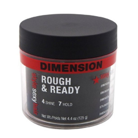 Sexy Hair Concepts Rough and Ready Dimension Pomade with Hold 4.4 oz [646630013876]