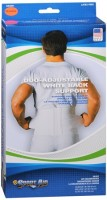 Sport Aid Back Support Duo-Adjustable White XL 1 Each [763189036092]