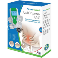 Carex AccuRelief Dual Channel TENS Electrotherapy Pain Relief System 1 ea [023601230003]