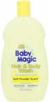 Baby Magic Hair & Body Wash, Soft Baby Scent 16.5 oz [075371050053]