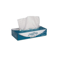 "Georgia Pacific Professional 48560 Ultra Premium Facial Tissue, White, 7 2/5""x 8 4/5"", 125 per Box 1 ea  [073310485607]"