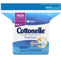 Cottonelle Fresh Care Flushable Moist Wipes Refill 168 ea [036000103588]