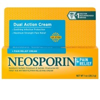 Neosporin + Pain Relief Cream Maximum Strength 1 oz [312547237796]