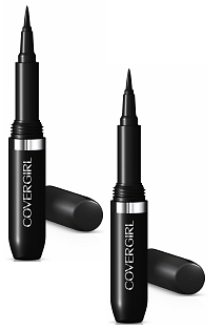 CoverGirl LashBlast 24 Hour Eyeliner, Enduring Black [800], 2 pack [022700574933]