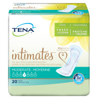 Tena Intimates Moderate Regular Incontinence Pad for Women, 20 Count [380040413009]