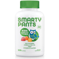 SmartyPants Kids Complete Fiber Delicious Gummy Multivitamins 120 ea [851356004071]
