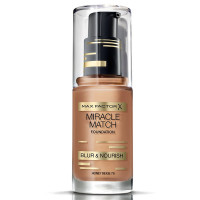 Max Factor Miracle Match Foundation, [79] Honey Beige, 1 oz [4084500539563]