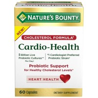 Nature's Bounty Cholesterol Formula Cardio-Health 60 ea [074312672811]
