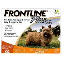 Frontline Plus Flea & Tick Control For Small Dogs 3 ea [350604287001]