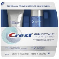 Crest Gum Detoxify + Whitening 2 Step Toothpaste 1 ea [037000754220]