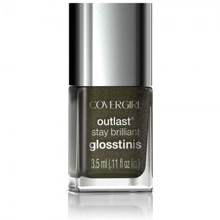 CoverGirl Outlast Stay Brilliant Glosstinis, Black Heat 0.11 oz [008100009244]