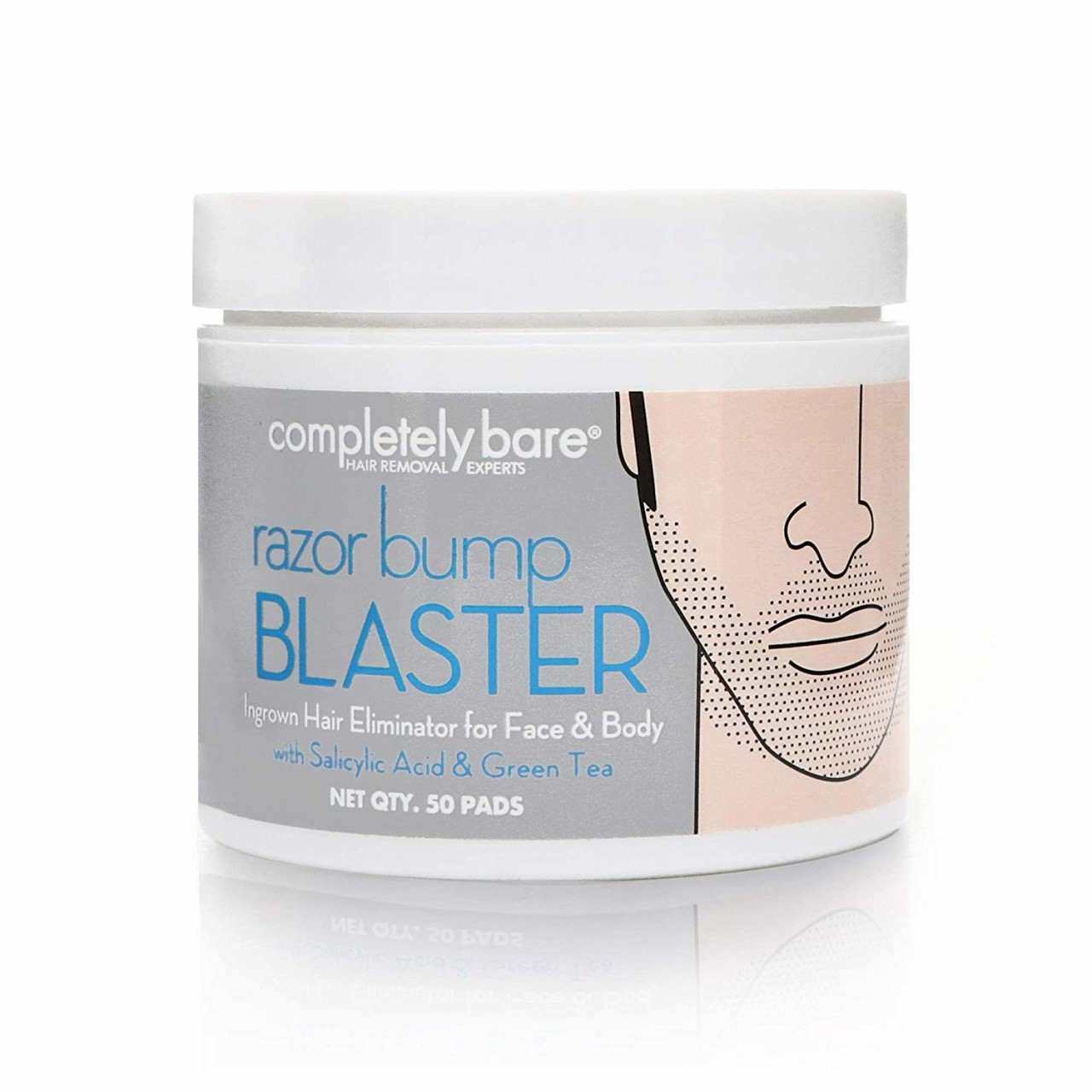 Completely Bare Razor Bump BLASTER Ingrown Hair & Razor