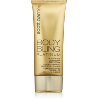 Scott Barnes Body Bling Moisturizing Shimmering Body Lotion, Platinum 4 oz [813616010017]