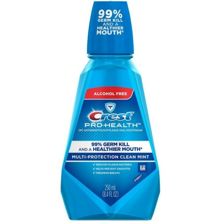 Crest Pro-Health Antiplaque Oral Mouthwash Multi-Protection Mint 28.4 oz [037000449805]
