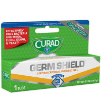 Curad Germ Shield Antimicrobial Gel 0.50 oz [884389123273]