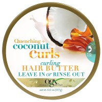 OGX Quenching + Coconut Curls Curling Hair Butter 6.60 oz [022796900937]