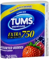 TUMS E-X 750 Tablets Assorted Berries 24 ea [307667388268]