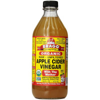 Bragg Organic Apple Cider Vinegar 16 oz [074305001161]